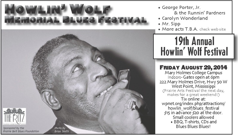 West Point Mississippi Howlin Wolf Memorial Blues Festival